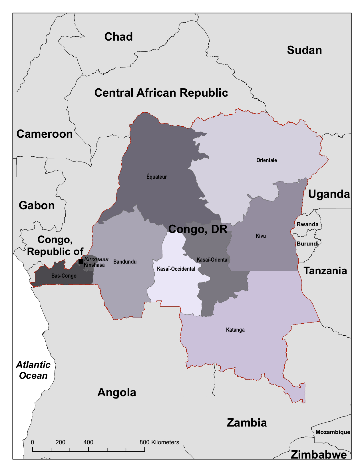 Congo, Democratic Republic